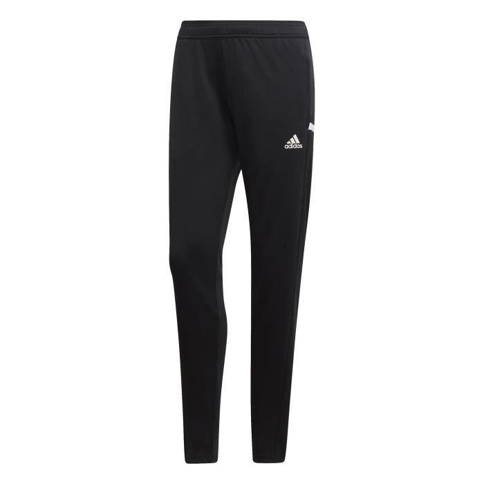 Pantalon de survêtement femme adidas Team 19 Noir Noir blanc - Achat ... 052ab60dac4