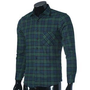 ... CHEMISE - CHEMISETTE Chemises à carreaux de luxe Slim à manches longues  ... 820d7dd7e7a