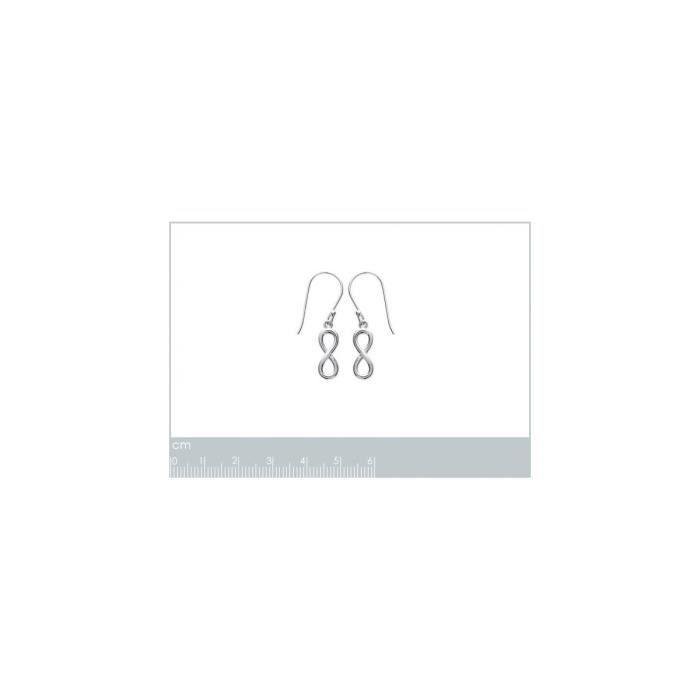Isady - Lisa Long - Boucles doreilles - Argent Sterling 925 Rhodié - Pendantes