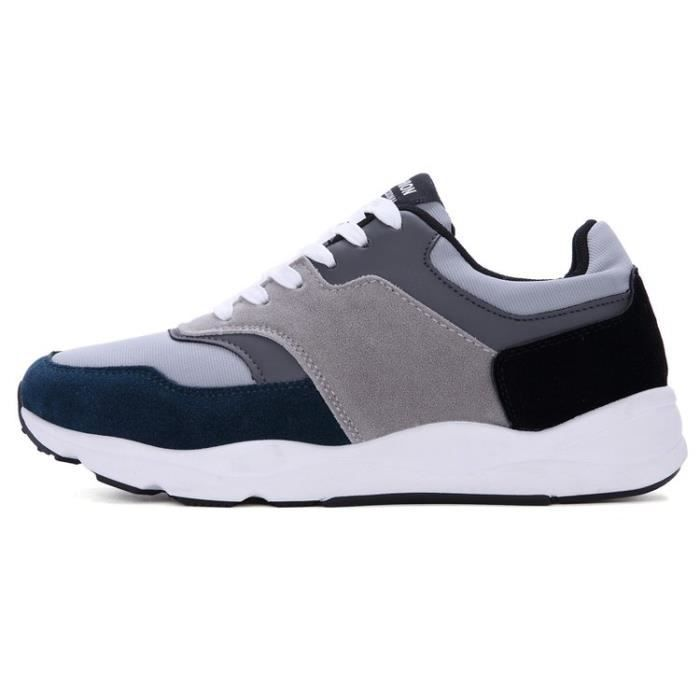 Air Baskets Chaussures Jogging Course Gym Fitness Sport Lacet Sneakers Style Running Homme