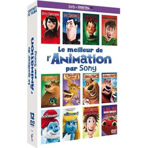 DVD DESSIN ANIMÉ DVD Coffret Le Meilleur de l'animation par Sony -