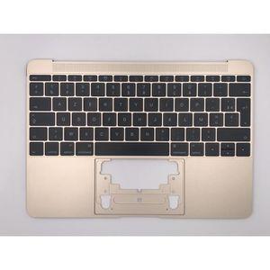 CLAVIER D'ORDINATEUR Topcase Or +clavier français FR AZERTY Apple MacBo