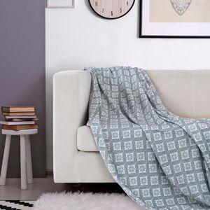 Couverture de Canapé Jetés de Lit Sofa pour Voyage Maison 127X152CM 76c32167eef