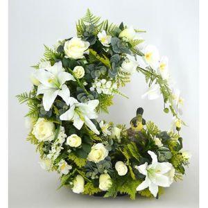 fleur blanche artificiel achat vente pas cher. Black Bedroom Furniture Sets. Home Design Ideas