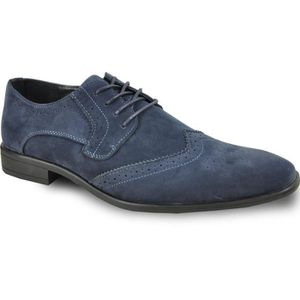 Bravo Dress Shoe King-3 Classic Faux Suede Oxford With Leather Lining - Wide Width Available A2LI1 Taille-48 gEguX7qvV