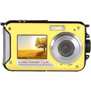 APPAREIL PHOTO COMPACT Appareil photo numérique Orange , 24MP étanche MAX