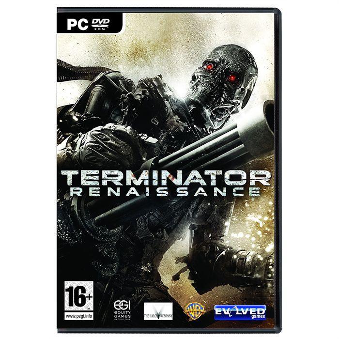JEU PC TERMINATOR RENAISSANCE / JEU PC DVD-ROM