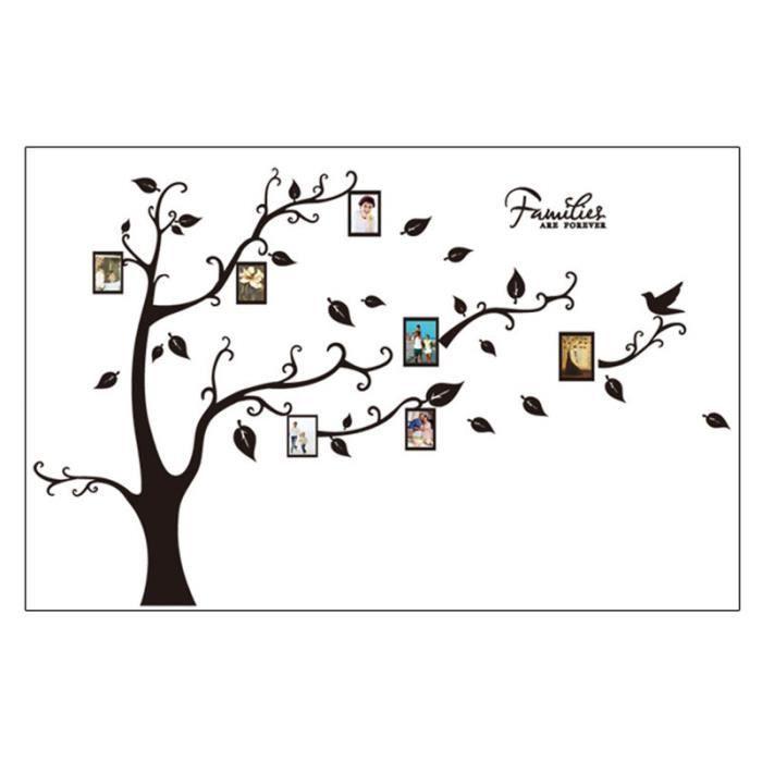 stickers muraux arbre genealogie achat vente pas cher. Black Bedroom Furniture Sets. Home Design Ideas