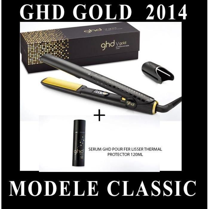 FER A LISSER GHD - SERUM  + FER A LISSER STYLER CLASSIC GOLD