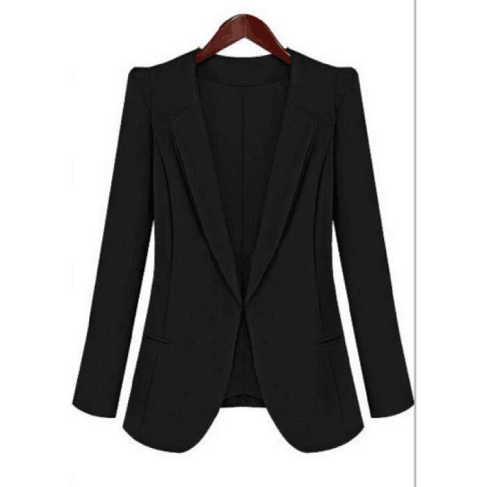 Blazer femme robe noire