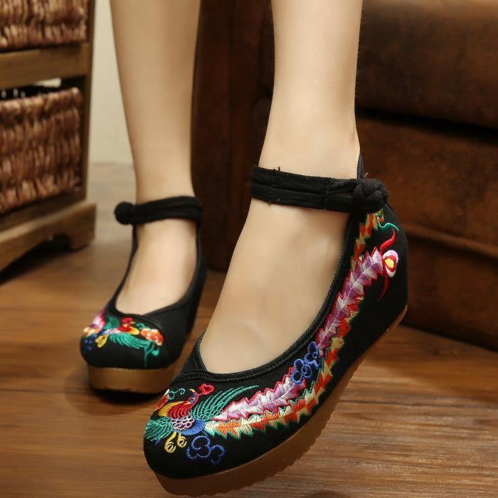 MOCASSIN Mocassins  à Talons Compensés Chaussures Femme