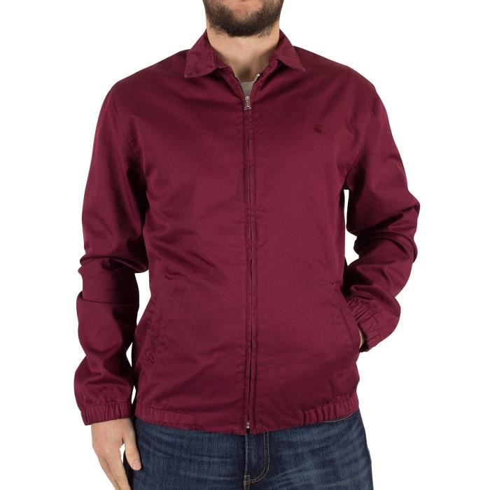 f61b7727c Carhartt WIP Homme Madison Logo Jacket, Rouge Rouge - Achat / Vente ...