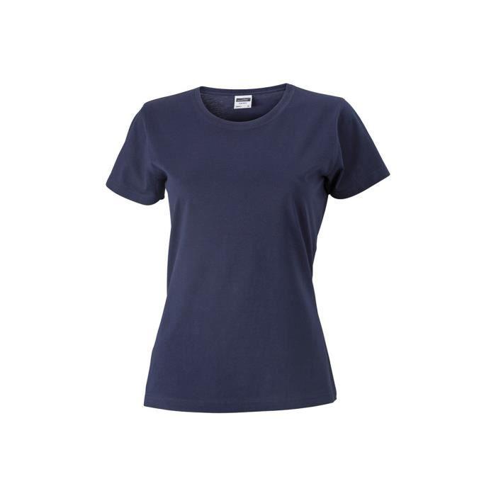 Femme Cintré Cintré Shirt Tee Tee Shirt MarineXxl Femme NwOXnk80P