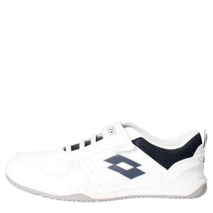 BASKET Lotto Sneakers Garçon Blanc/Bleu, 39