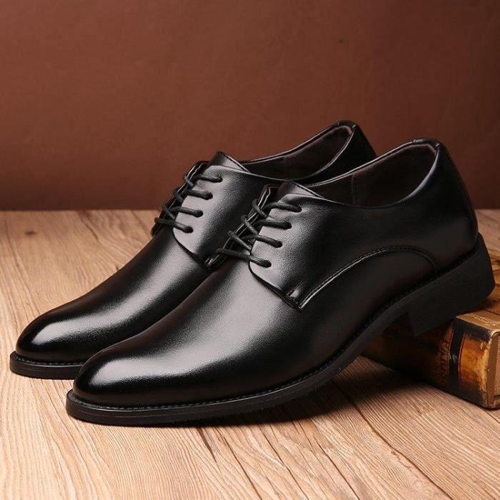 DERBY Chaussures En Cuir DéContracté Homme Doux D'Affair