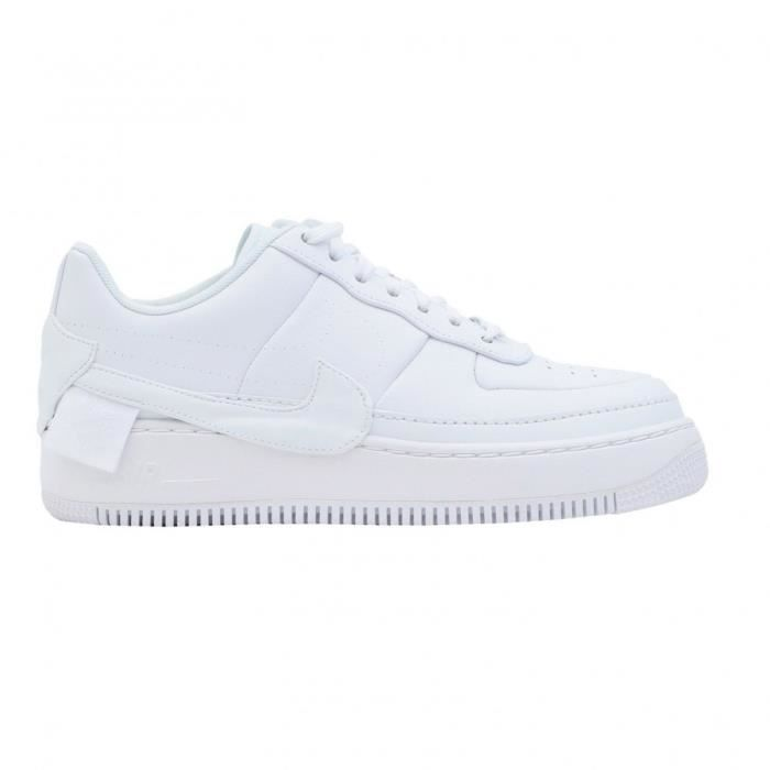55bb2f224ba Basket mode Nike Air Force 1 Jester XX Blanc Blanc Blanc - Achat ...