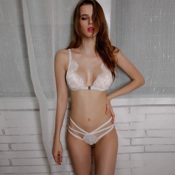 vêtements Sous En Blanc Up Push 917 Top Bandage gorge Corset Dentelle nk Set Femmes Lingerie Pantalons Soutien BwFUOO