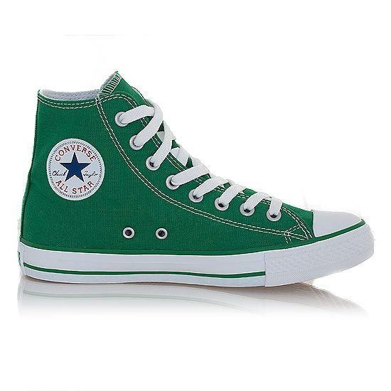 Baskets Converse ALL STAR HI Vert Fluo
