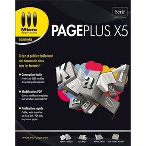 MULTIMÉDIA PAGEPLUS X5
