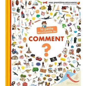 DOCUMENTAIRE ENFANT La petite encyclopédie des Comment?