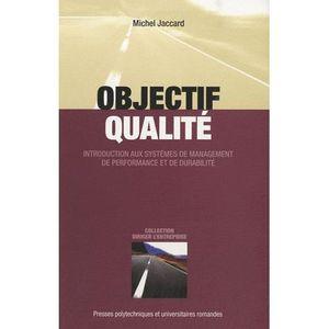 LIVRE GESTION Objectif qualité