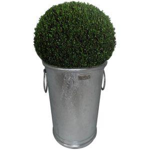 Bac ? plantes haut rond Zinc N°3
