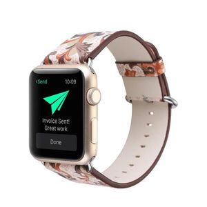 BRACELET DE MONTRE Pteris remplacement cuir bracelet bande Apple mont