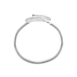 CHAINE DE TAILLE - CHAINE D EPAULE Silver Mesh Ladies Ceinture Chaîne Charm  Belt in 16de2931cf3
