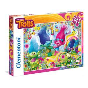 PUZZLE TROLLS-PUZZLE DESSIN ANIMÉ 104 PIECES