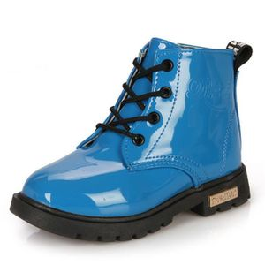 Enfants Bottes Sneakers Bottes Garçons Filles Casual Sneakers Mode Chaussures PU CuirImperméable Hiver Enfants Martin z3lMg