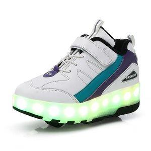 31ea27bcdde61 BABIES LED Enfant Chaussures A Roulettes Lumineuse Garçon