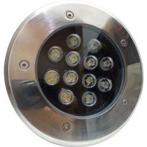 SPOT D'EXTÉRIEUR  Spot Extérieur Encastrable Sol LED 12W IP65 60