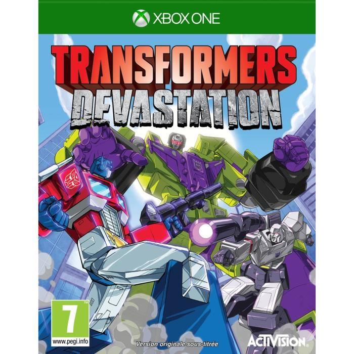 Transformers : Devastation Jeu Xbox One