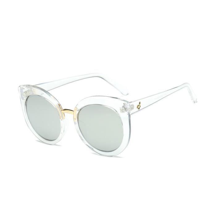 Sunglass Vintage rétro Cat Eye classique Lunettes stylisés Marque 581 Men Mirror UwqvxWFE