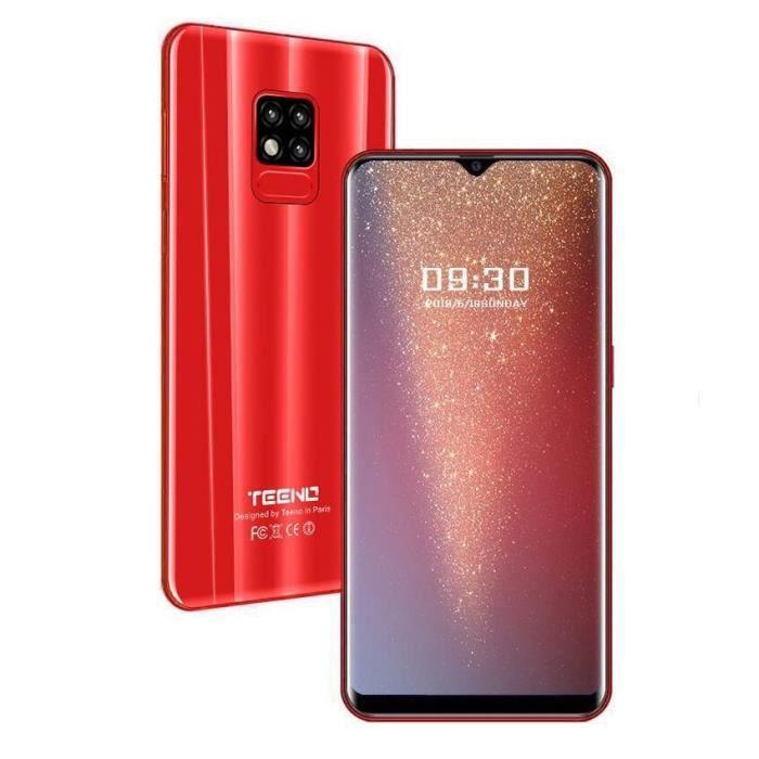 SMARTPHONE TEENO Smartphone 4G Débloqué 5.5 Pouces Orange (Qu