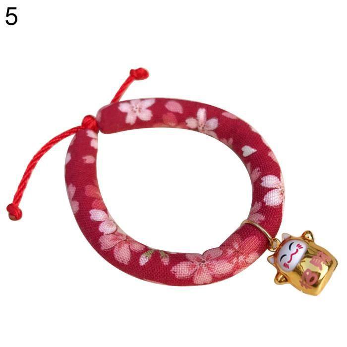 Collier De Chiot Mode Fleur Chat Floral Pour Chien Offre 5 # S