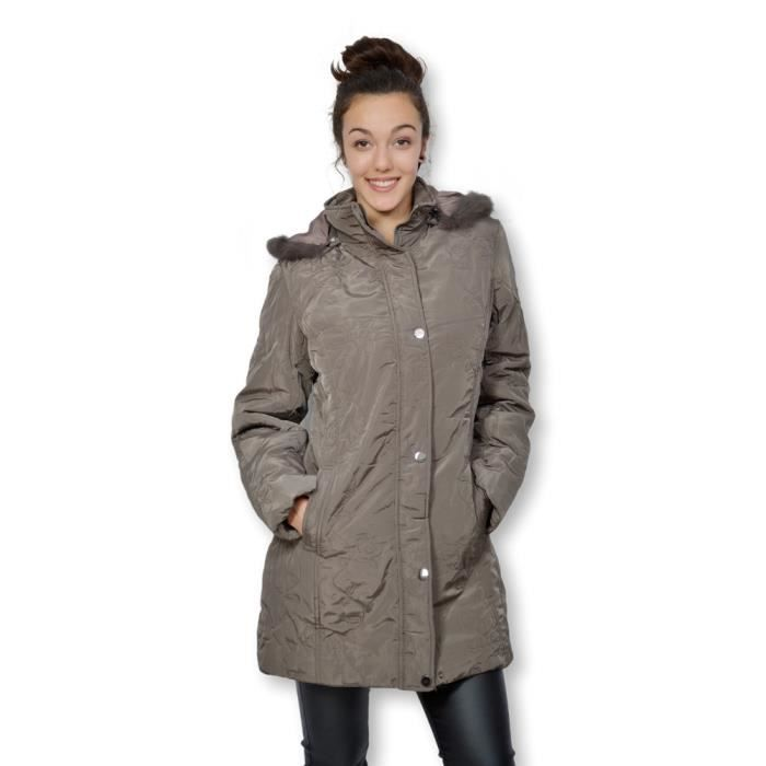 manteau parka femme achat vente manteau parka femme pas cher cdiscount. Black Bedroom Furniture Sets. Home Design Ideas