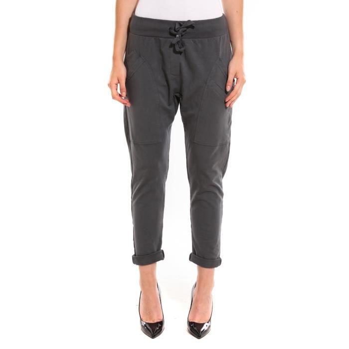 Pantalons Pantalon Wendy Trendy Gris