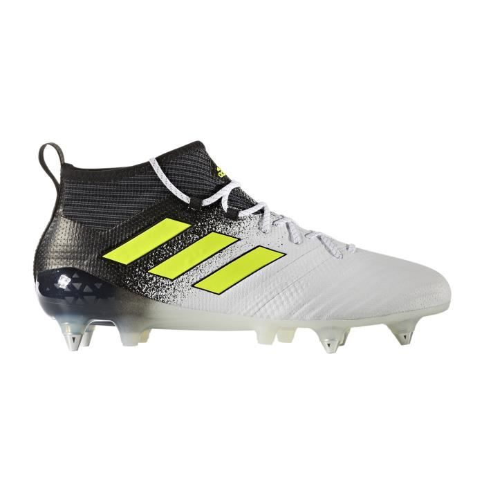 lowest price d44fa c9282 CHAUSSURES DE FOOTBALL Chaussures football adidas ACE 17.1 SG Blanc-Noir