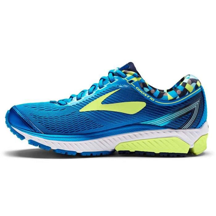 Brooks Chaussures  Ghost 10 Rouge H rouge - Livraison Gratuite avec - Chaussures Chaussures-de-running Homme