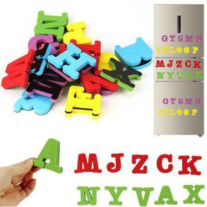 AIMANTS - MAGNETS 26 lettres Eva frigo aimant enfant bébé jouet éduc