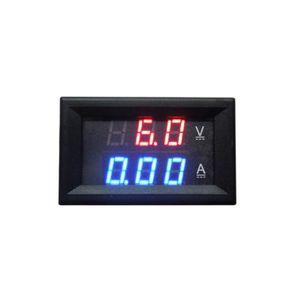 MULTIMÈTRE DC0-100V 10A Digital Voltmeter Ampèremètre Double