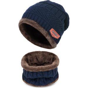 BONNET - CAGOULE Hiver Bonnet Enfant chaud Bonnet et écharpe Cercle bb9e2707e91