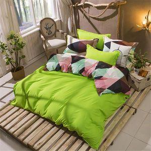 housse de couette 220x240 vert achat vente housse de couette 220x240 vert pas cher soldes. Black Bedroom Furniture Sets. Home Design Ideas