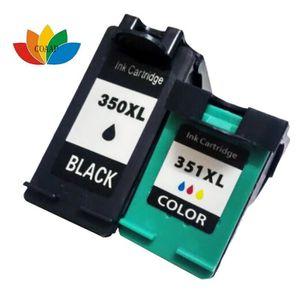 CARTOUCHE IMPRIMANTE 2 Cartouche d'encre compatible hp350 351 compatibl