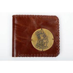 b5e4140f5a5 ... original pour homme style. OBJET DÉCORATIF Portefeuille en cuir  Maroquinerie fait main Cadeau
