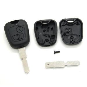 BOITIER - COQUE DE CLÉ Coque pour clé télécommande Peugeot 406 806 ac92b07a90e