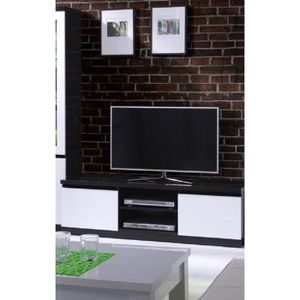 MEUBLE TV PRICE FACTORY - Meuble TV  FABIO 2 portes coloris