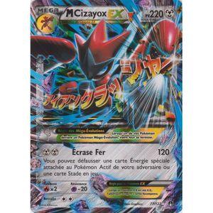 CARTE A COLLECTIONNER Carte Pokémon Mega Cizayox EX - 220 PV - XY Ruptur