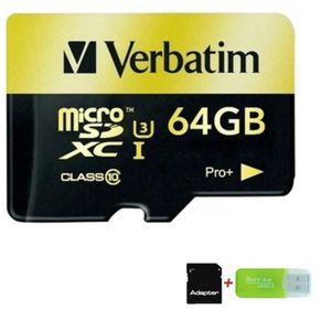 CARTE MÉMOIRE 64 Go Carte Mémoire Micro SD haute vitesse Classe
